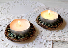 tealight candle holders from Israel