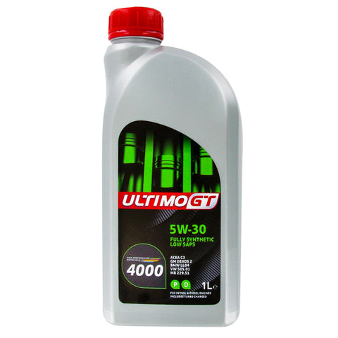 5W30 FULLY SYNTHETIC OIL LOW SAPS 1 LITRE FREE DELIVERY