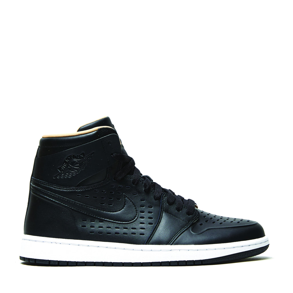 AIR JORDAN 1 RETRO HIGH 'BLACK/VACHETTA TAN'