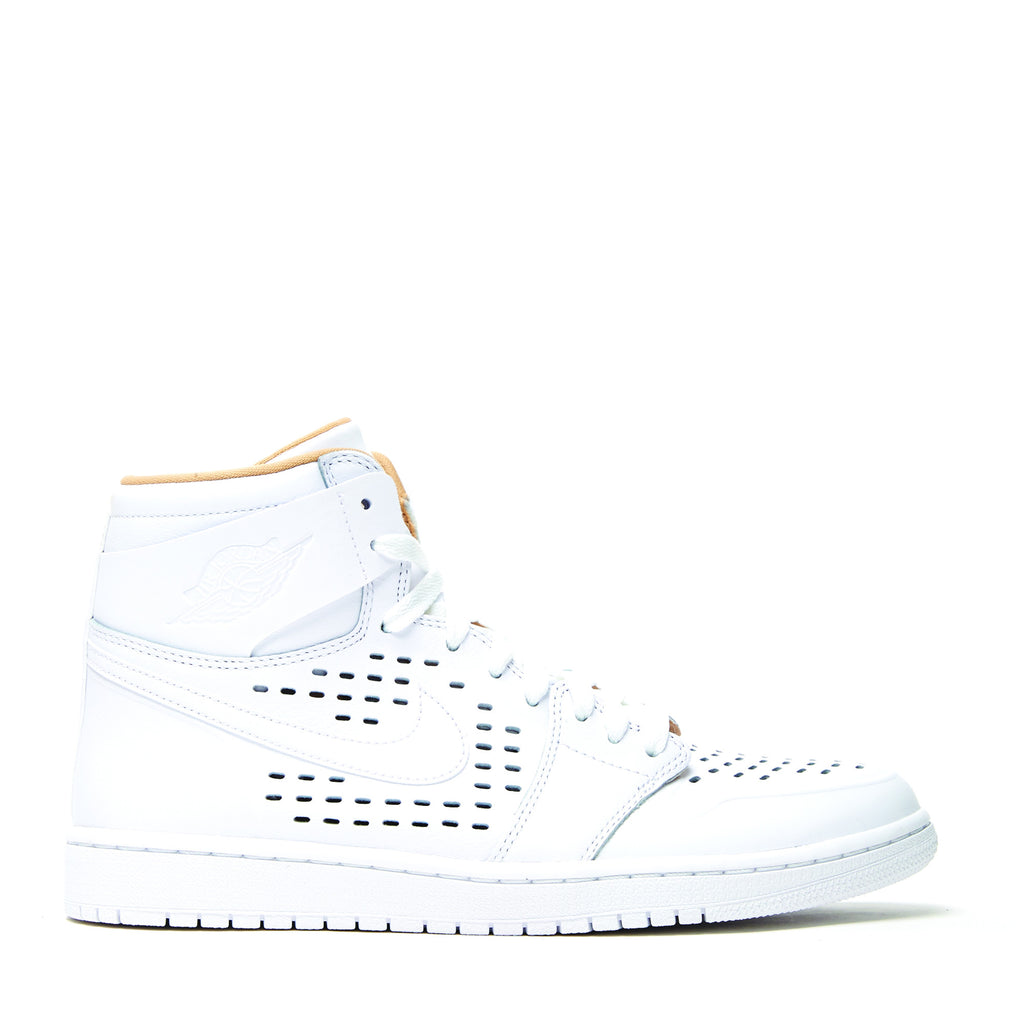 AIR JORDAN 1 RETRO HIGH 'WHITE/VACHETTA TAN'