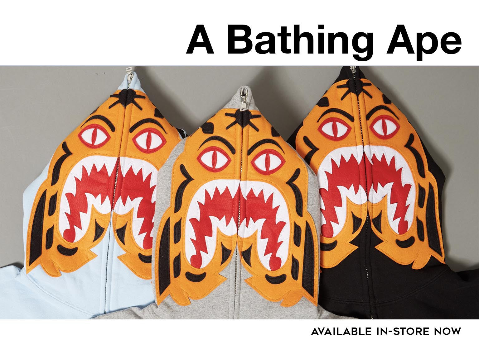 New at UNKNWN: A Bathing Ape In-Store Only
