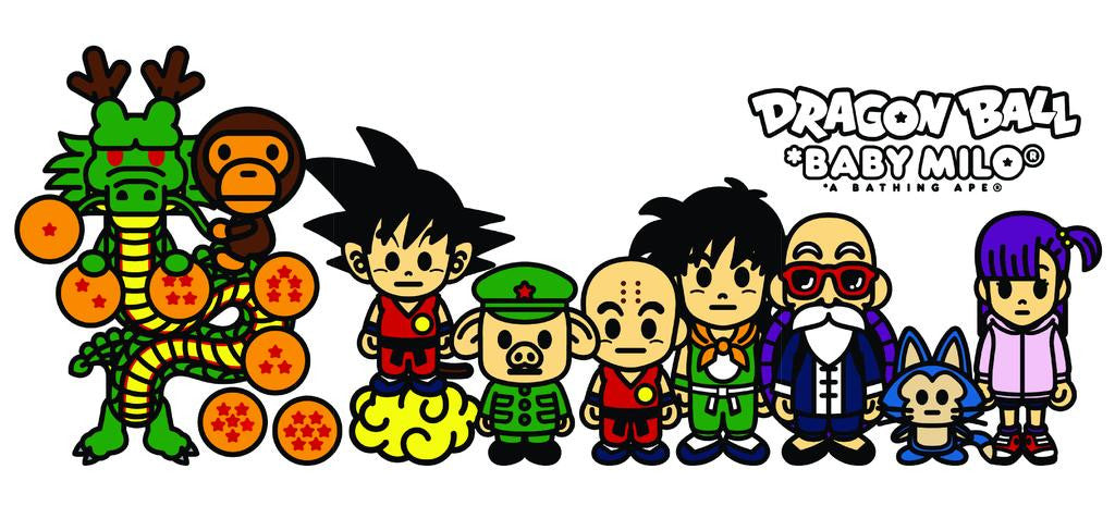 A Bathing Ape Dragon Ball *Baby Milo