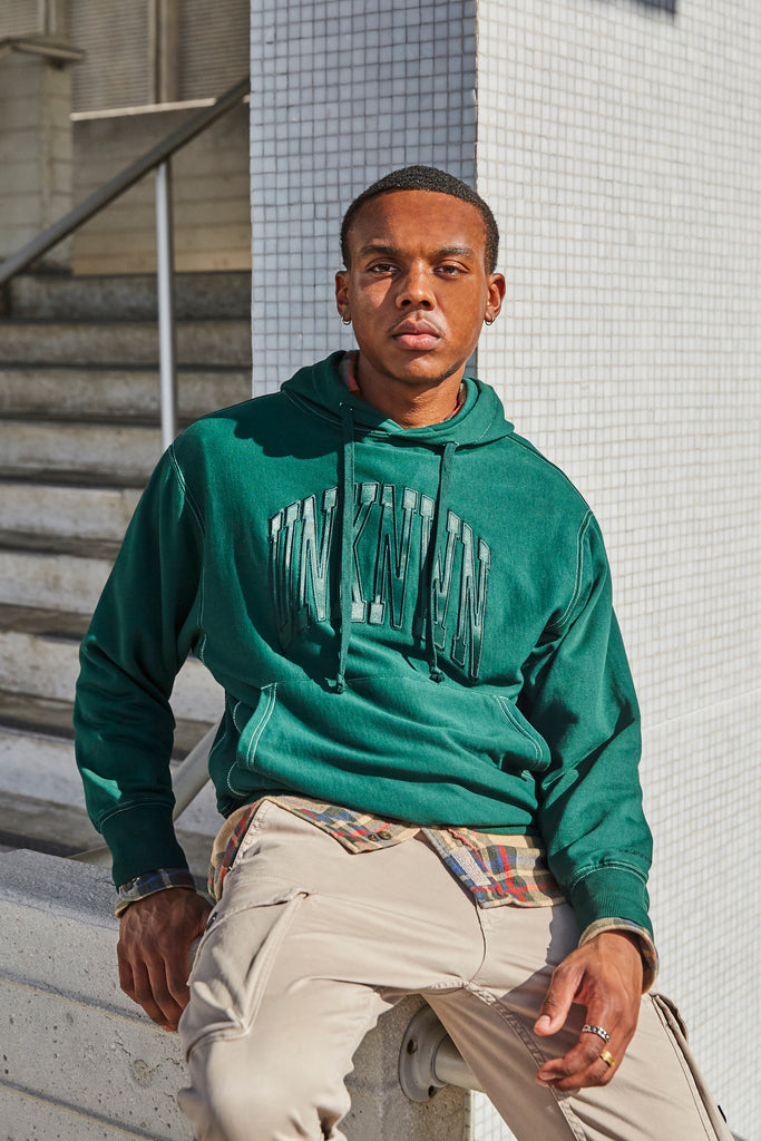 UNKNWN Collegiate Arch Hoodie Collection