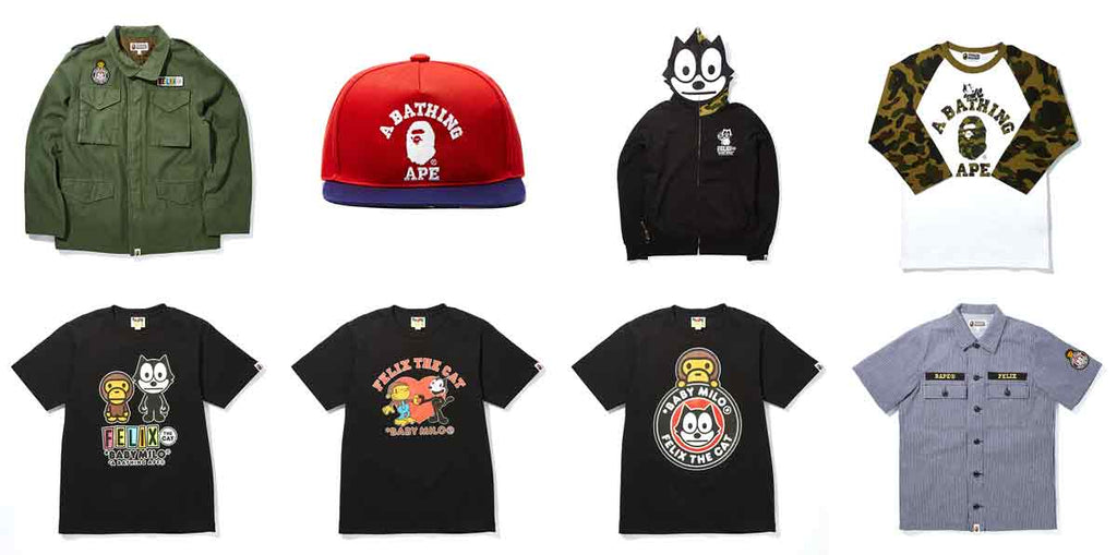A Bathing Ape x Felix The Cat