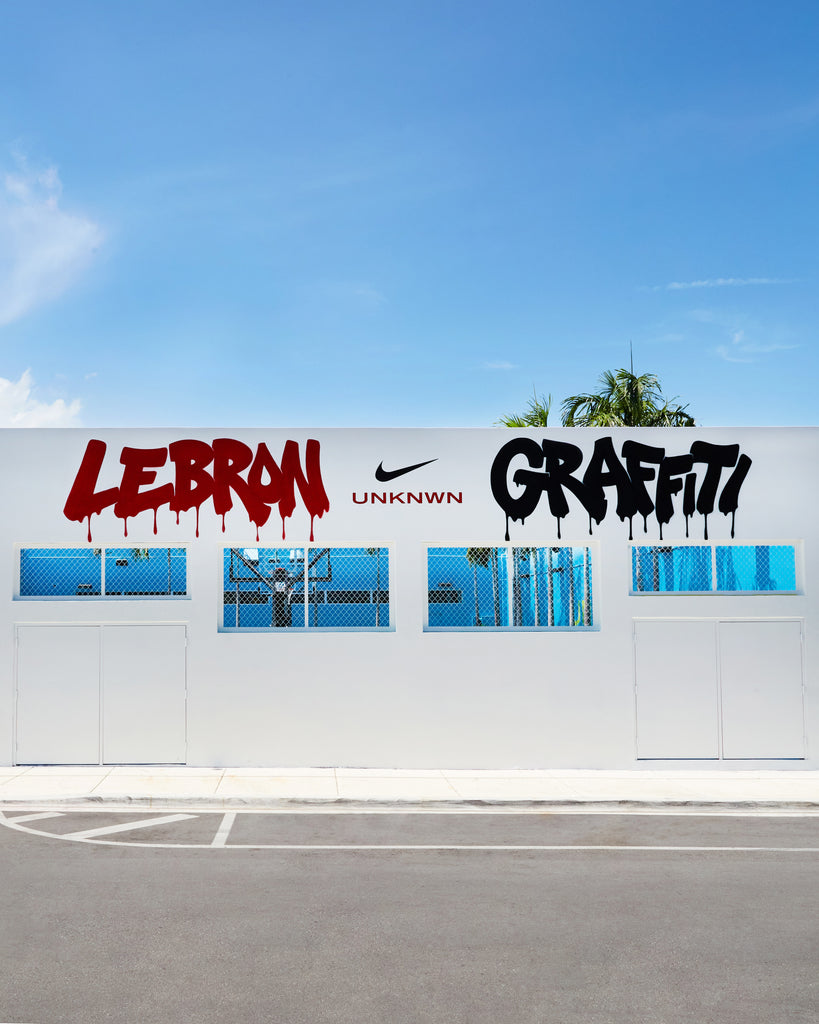 UNKNWN LeBron Nike Graffiti 17 Sneakers