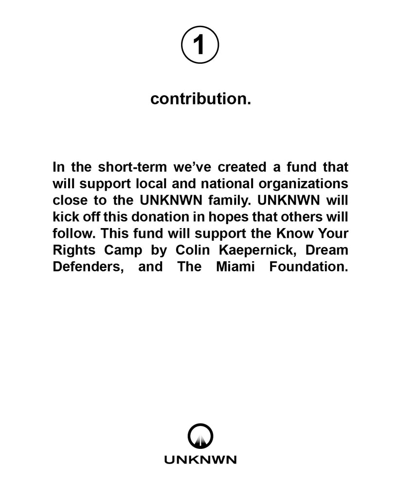 UNKNWN Community Fund