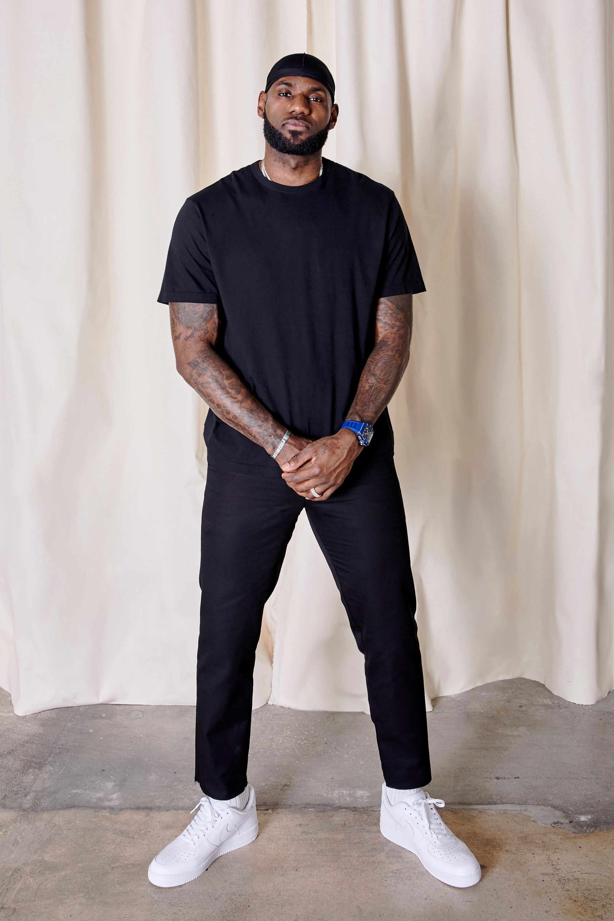 UNKNWN Collection 001 with LeBron James