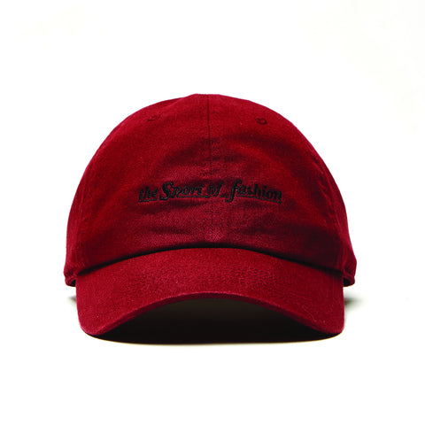 THE SPORT OF FASHION SCRIPT HAT