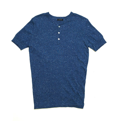 SHORTSLEEVE KNIT DONEGAL HENLEY