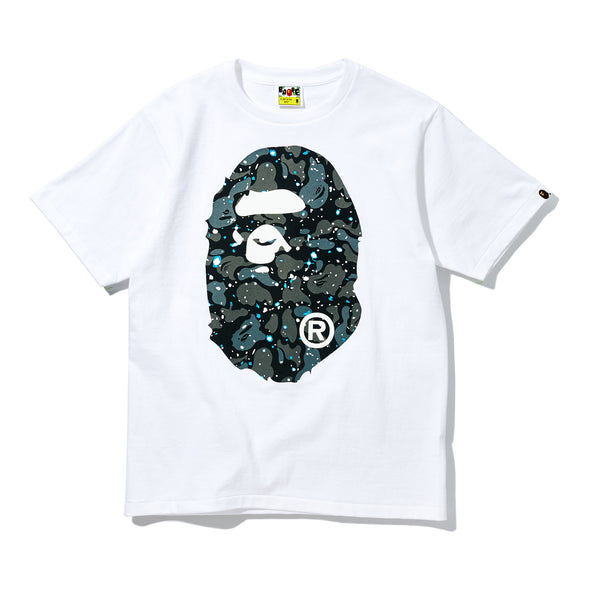 Bape Space Camo Big Ape Head T Shirt Unknwn