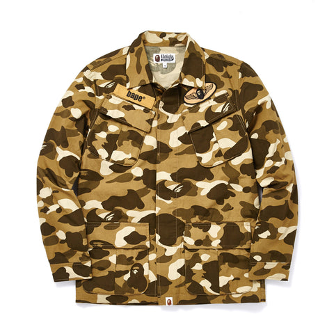 COLOR CAMO UTILITY SHIRT