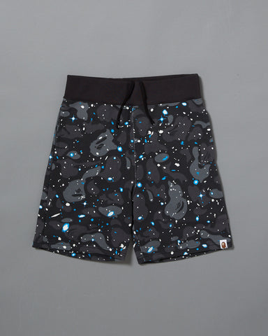 SPACE CAMO SWEAT SHORT