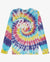 BAPE TIE DYE LONG SLEEVE T-SHIRT