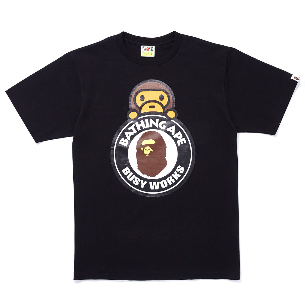 af09a1e0ed2c BAPE. MILO ON BUSY WORKS T-SHIRT. Sold out. Previous Next