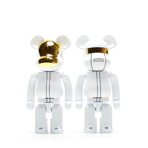 SUPER ALLOYED BE@RBRICK DAFT PUNK 2 PACK 200%