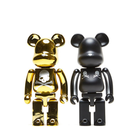 SUPER ALLOYED BE@RBRICK MASTERMIND 2 PACK 200%