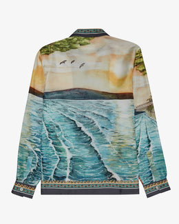 SILK TWILL SOUND OF THE WAVES SHIRT