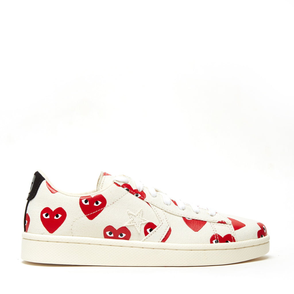 f6faa0037a6ac3 COMME DES GARCONS - CONVERSE PRO LEATHER LOW – UNKNWN