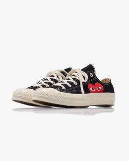 PLAY CONVERSE CHUCK TAYLOR ALL STAR '70 LOW BLACK