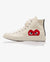 CONVERSE CHUCK TAYLOR ALL STAR '70 HIGH, CREAM/RED HEART