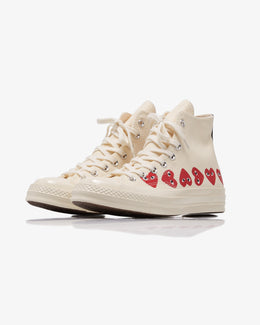 MEN'S CHUCK TAYLOR ALL STAR '70 HIGH MULTI HEART