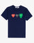 TRIPLE HEART T-SHIRT