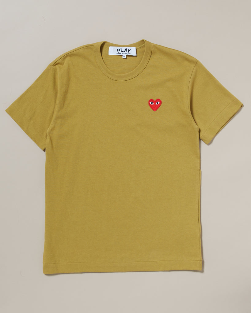6522065bb513e T-SHIRT WITH SMALL RED HEART