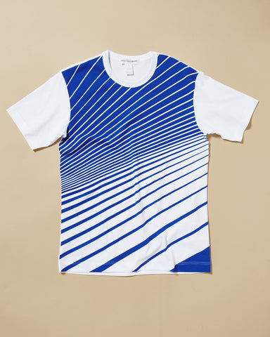 T-SHIRT WITH GRAPHC STRIPE