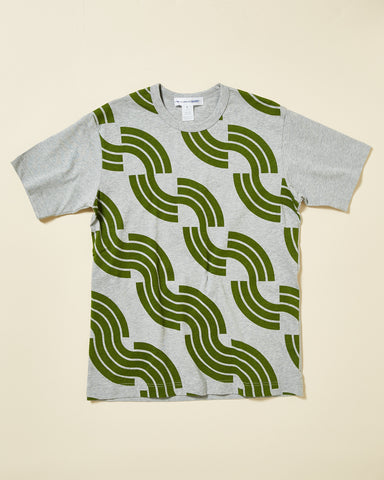 T-SHIRT WITH ABSTRACT PRINT