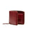 LUXURY LEATHER LINE WALLET, BURGUNDY