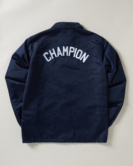 Champion Premium Coaches Jacket Navy