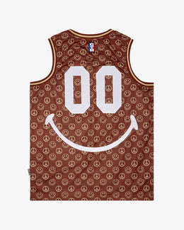 SMILEY CABANA BASKETBALL JERSEY