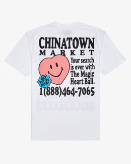 SMILEY FORTUNE BALL SOUL MATE T-SHIRT