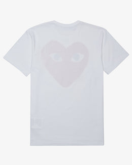 LARGE RED HEART GRAPHIC T-SHIRT