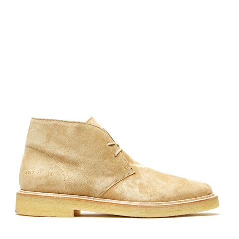 CHUKKA BOOT WITH CREPE SOLE