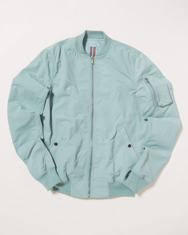 MOIRE COTTON BOMBER JACKET