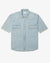 DENIM SHORT SLEEVE BUTTON UP
