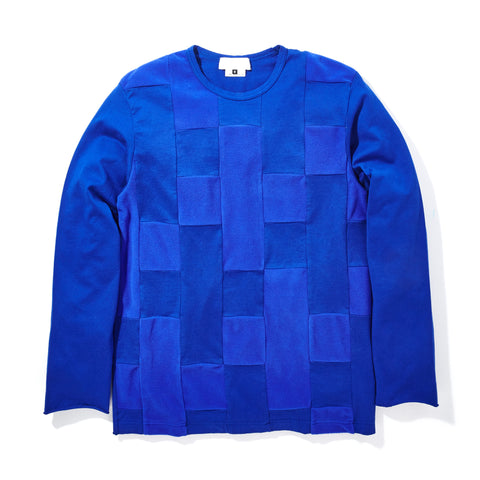 TONAL FLEECE CHECKERED SHIRT