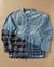 50/50 CHAMBRAY/BLUE PLAID STUDIO SHIRT