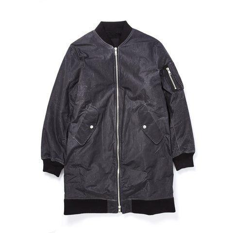 SHERPA LINED LONG BOMBER