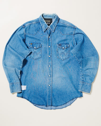 HEAVY SNAP DENIM SHIRT