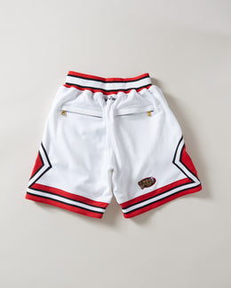 Just Don 1992 Chicago Bulls Shorts White/Red/Black