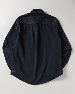 ksubi Frontier Shirt Castor Oil in black