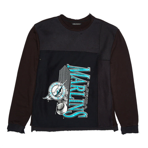 LJ X UNKNWN MIAMI MARLINS NASH SWEATSHIRT