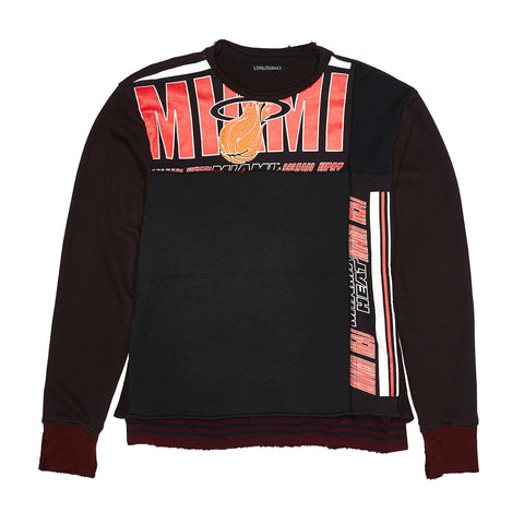 LJ X UNKNWN MIAMI HEAT SWEATSHIRT