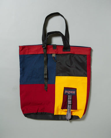 JANSPORT MIXED VERTICAL TOTE