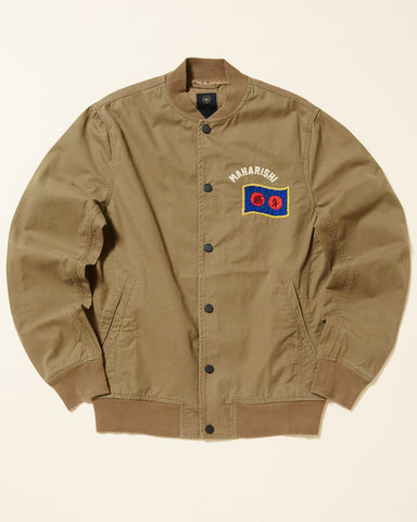 EMBROIDERED STADIUM JACKET