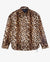 FAUX LEOPARD BUTTON UP