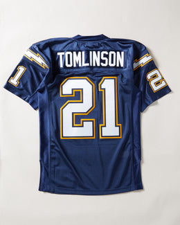 Mitchell & Ness 2002 San Diego Chargers Ladainian Tomlinson Authentic Jersey