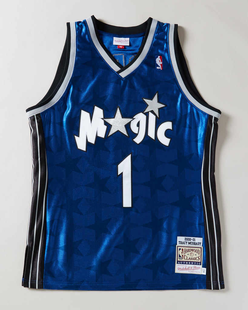 low priced dff63 89cd5 MITCHELL & NESS - ORLANDO MAGIC TRACY MCGRADY #1 AUTHENTIC ...